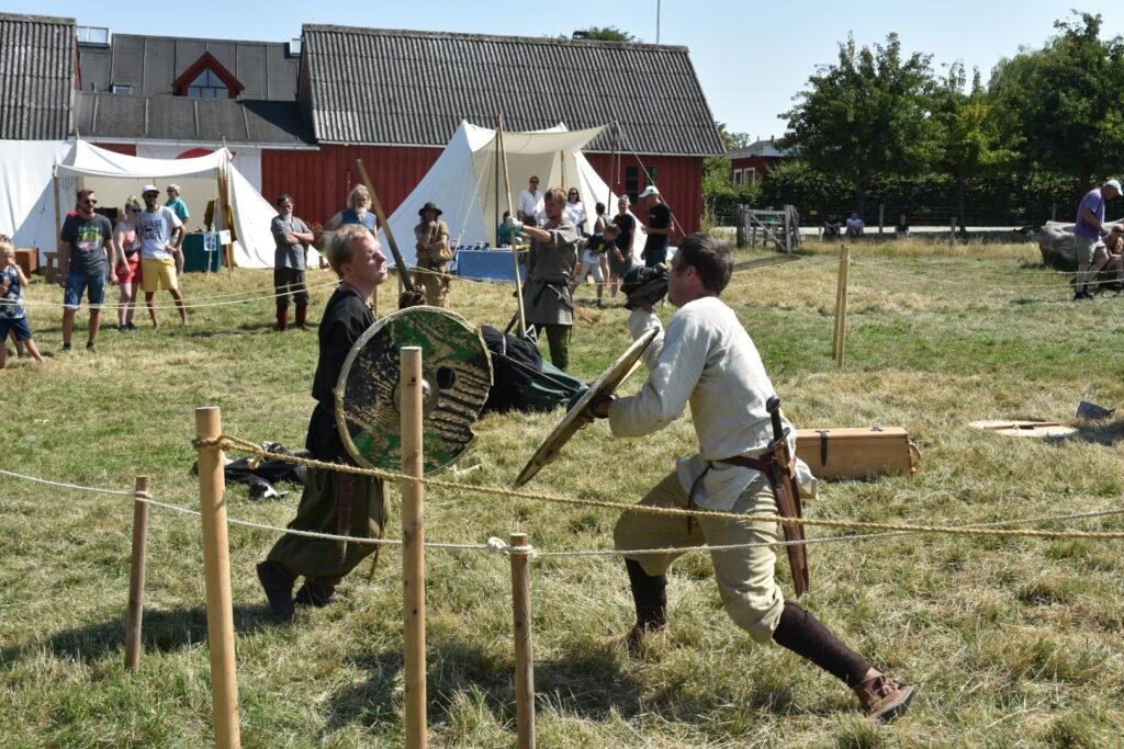 Vikingemarked på Grantoftegaard